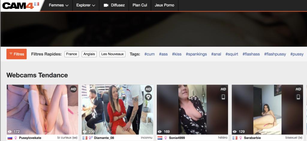 Les meilleurs site de webcam sexy et de live sex