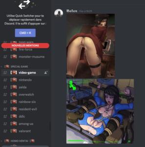 Serveur discord porno hentai