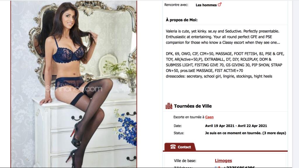 Prostituées et Escort à Caen – Prix et Quartiers